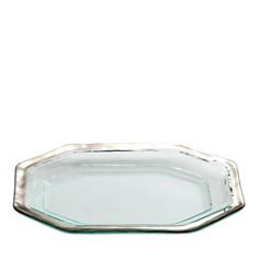 Annieglass - Roman Antique Steak Platter