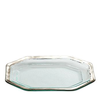 Annieglass - Roman Antique Steak Platter