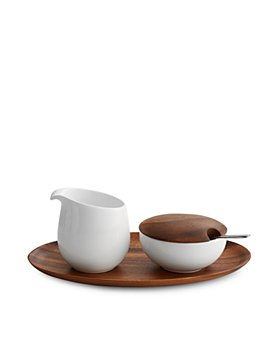 Nambé - SKYE Sugar and Creamer Set with Tray