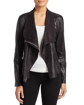 Calvin Klein - Distressed Draped Lapel Jacket