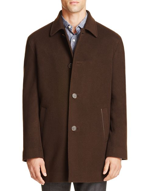 Cole Haan - Wool Cashmere Topper Coat