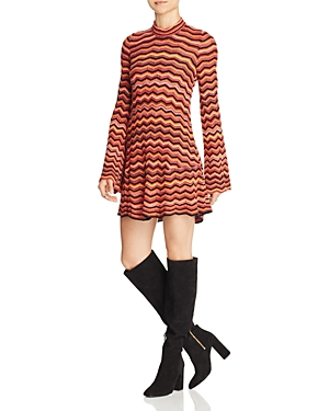 Free People Ziggy Striped Sweater Dress