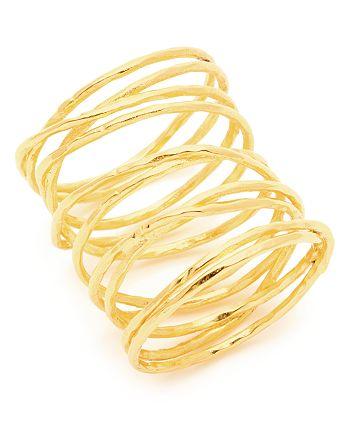 Gorjana - Lola Crisscross Wire Ring