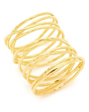 Gorjana Lola Crisscross Wire Ring