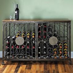 Wine Enthusiast 84 Bottle Wine Jail - Bloomingdale's_0