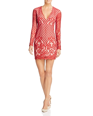 Stylestalker Lani Lace Long Sleeve Dress