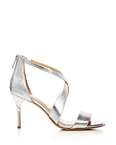 Imagine VINCE CAMUTO - Women's Pascal Metallic Crisscross High-Heel Sandals