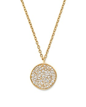 "IPPOLITA - 18K Yellow Gold Glamazon® Stardust Flower Pendant Necklace with Diamonds, 16"""