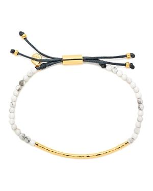 Gorjana Gold-Tone Stone Beaded Bracelet-Jewelry & Accessories