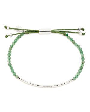 Gorjana Aventurine Luck Bracelet