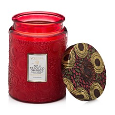 Voluspa - Japonica Goji Tarocco Orange Large Glass Candle
