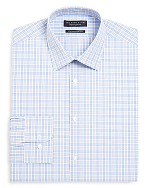 The Men's Store at Bloomingdale's Multi Check Regular Fit Dress Shirt