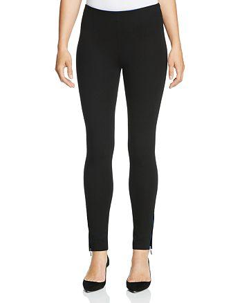 Armani Collezioni - Ankle Zip Knit Pants
