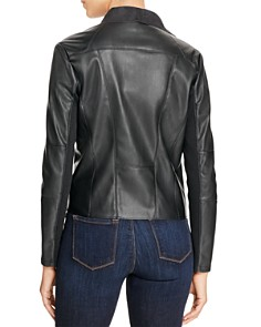 Bagatelle - Draped Faux Leather Jacket