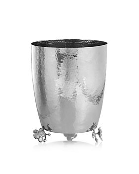 Michael Aram - White Orchid Waste Basket