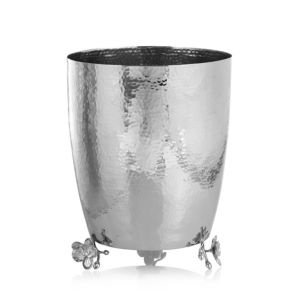 Michael Aram White Orchid Waste Basket