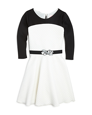 Zoe Girls Quilted Knit Swing Dress  Sizes 716