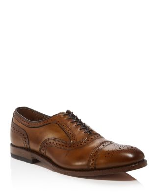 'Strand' Cap Toe Oxford, Walnut Leather