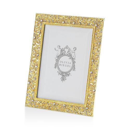 "Olivia Riegel - ""Gold Windsor Frame, 5"" x 7"""