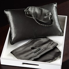 Donna Karan Silk Pillow and Eye Mask Travel Set - Bloomingdale's_0