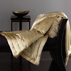 Donna Karan - Silk Quilted Throw