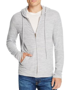 Velvet Loudon Cozy Heather Jersery Zip Hoodie