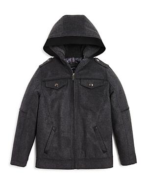 Urban Republic Boys Flannel Officers Jacket  Big Kid