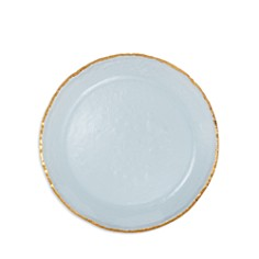 """Annieglass 10"""" Dinner Plate - Bloomingdale's_0"""