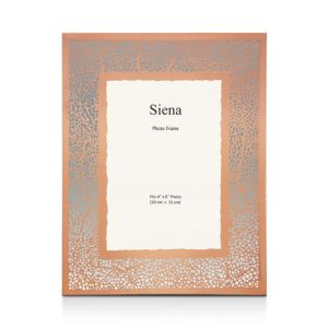 Siena Glass Crackled Frame, 5 x 7