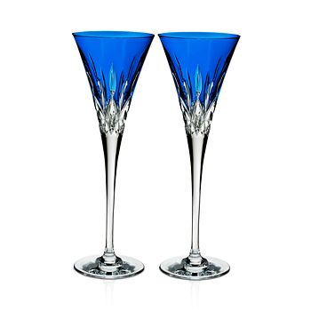 Waterford - Lismore Pops Toasting Flute, Set of 2