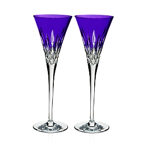 Waterford Lismore Pops Toasting Flute, Set of 2-Home