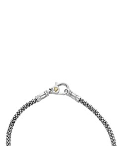LAGOS - 18K Gold and Sterling Silver Luna Rope Bracelets with Cultured Freshwater Pearl