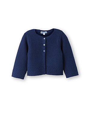 Jacadi Infant Girls Textured Open Stitched Cardigan  Sizes 636 Months