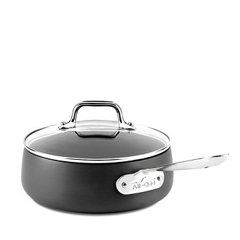 All-Clad - Hard Anodized Nonstick 2.5-Quart Saucepan