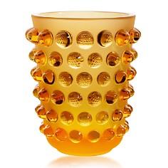 Lalique - Mossi Vase Amber