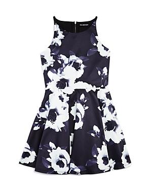 Miss Behave Girls' Floral Print Ilene Dress, Sizes 8-16 - 100% Exclusive
