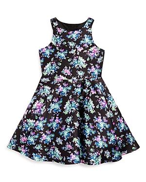 Pippa  Julie Girls Floral Print Dress  Sizes 714