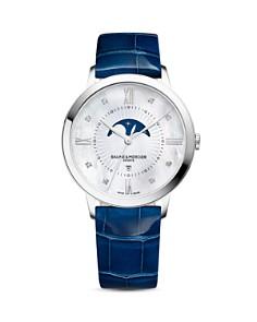 Baume & Mercier Classima Diamond Moon Phase Watch, 36.5mm - Bloomingdale's_0