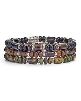25dd4bf6fc8c76 JOHN HARDY - Sterling Silver Classic Chain Beaded Bracelets
