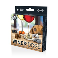 Fred & Friends - Winer Dogs Drink Markers, Set of 6