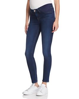 J Brand - Mama J Skinny Maternity Jeans in Fleeting