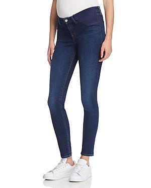 J Brand Mama J Skinny Maternity Jeans in Fleeting