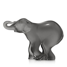 Lalique Gray Timori Elephant - Bloomingdale's_0