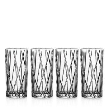 Orrefors - City Highball Glass, Set of 4