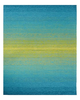 Jaipur Living - Catalina Rug Collection - Peacock Blue/Celery Green