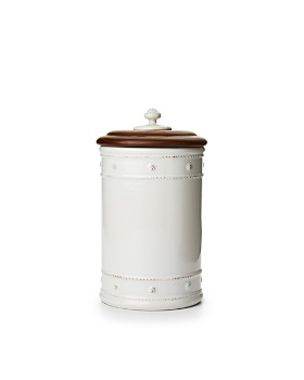 "Juliska - Berry & Thread 10"" Canister with Wooden Lid"