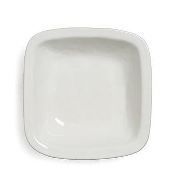 "Juliska - Puro Whitewash 12.5"" Rounded Square Serving Bowl"
