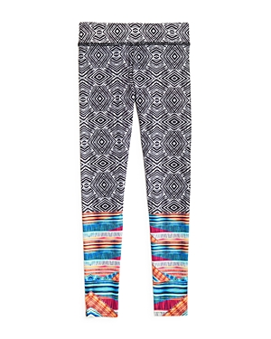 Onzie Girls' Tribal Print Leggings - Little Kid, Big Kid