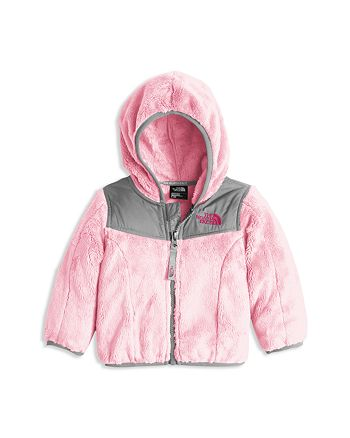 5684547b0 The North Face® Infant Girls' Oso Pile Fleece Hooded Jacket - Sizes ...