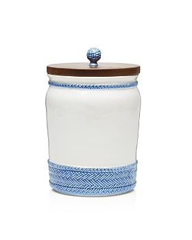 Juliska - Le Panier Canister with Wooden Lid,  10""
